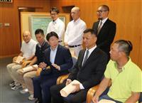 【西日本豪雨】「真備町地区」で約200人救助の9人に感謝状…「自らの危険を顧みない行動…