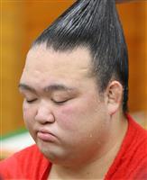 【大相撲秋場所】稀勢の里が初黒星、「明日は明日で。また、やっていきたい」
