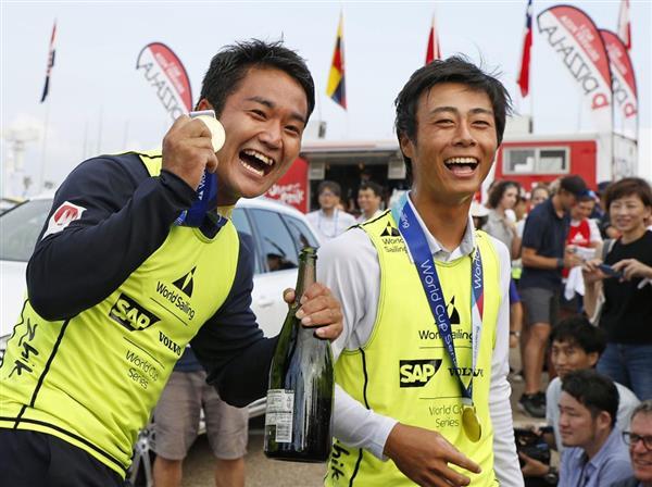 セーリング】岡田奎樹、外薗潤平組がW杯初V 470級最終レースは中止 - 産経ニュース