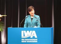 有明でIWA世界会議開幕 知事「水の知識共有、いい機会」