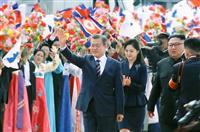 菅官房長官「重要なのは非核化の完全実行」 南北首脳会談で