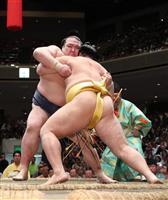【大相撲秋場所】稀勢勝ち越し、御嶽4敗 白鵬、鶴竜が10連勝