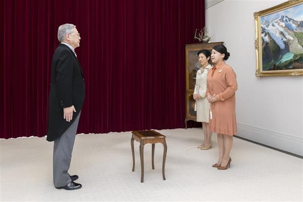 絢子さま「告期の儀」 守谷慧さんとの結婚式、10月29日に正式決定
