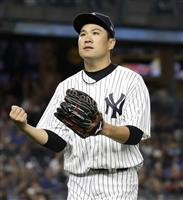 【MLB】田中将大が室内で投球練習 13勝目懸け登板前日調整