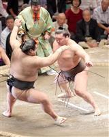 【大相撲】白鵬が単独首位、鶴竜に土 稀勢3敗、御嶽昇進絶望