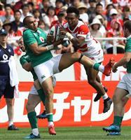 【ラグビー】日本代表の松島幸太朗「1年後をピークで迎える」