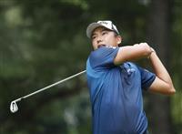【男子ゴルフ】出水田大二郎が63で首位 ダイヤモンド杯第1日