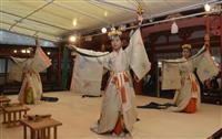 生田神社「氏子奉幣祭」 神戸の繁栄を祈り巫女が華麗な舞い