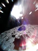 探査機はやぶさ2の小型ロボットが小惑星に着地、史上初の移動に成功