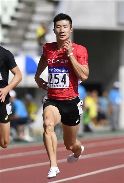 山県亮太、予選は10秒34 桐生祥...
