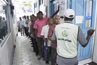モルディブ大統領選投票 与野党候補一騎打ち、対「中国」が争点