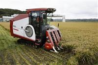 【北海道震度7地震】厚真町で稲刈り開始 地震、コメ農家4割被害に