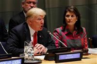 トランプ氏が麻薬対策で国連会合主宰 120カ国超参加、政治文書で厳格姿勢アピールへ