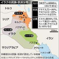 イラク住民投票から1年 クルド早期独立は遠く 自治政府、強硬路線を転換