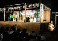 月明かりの下、伝統文化堪能 淡路島くにうみ神話祭