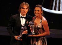 モドリッチが初受賞 クロアチアのMF FIFA男子最優秀選手