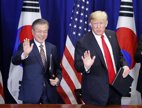 貿易赤字解消を迫る米国に韓国が大きく譲歩 米韓FTA改定協定 - 産経 ...