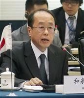 日中両政府「後押し」で一致 第三国でのインフラ整備、中国の「一帯一路」念頭に