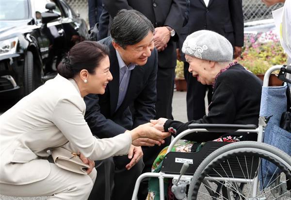 皇太子ご夫妻、福岡県からご帰京 九州北部豪雨被災地ご視察