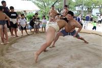 相撲のまち再び活気を 兵庫・新温泉で子供向け教室 競技人口拡大に期待