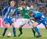 大迫勇也がフル出場 浅野拓磨は後半20分から サッカーのドイツ1部