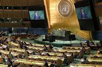 安倍晋三首相「自由貿易の旗手」へ決意 国連総会一般討論演説・全文