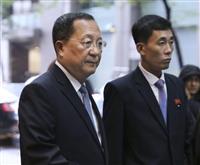 北朝鮮外相がNY入り 米朝外相会談の成否に注目