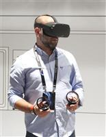 VR体験の新ゴーグル端末、来春発売へ フェイスブック