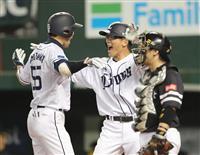 【プロ野球】西7-5ソ 西武が11連勝で優勝マジック3に