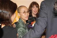 ノーベル平和賞の故劉暁波氏の妻、NYでイベントに参加