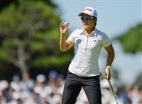 畑岡奈沙が7バーディーと爆発 17位から2位に浮上 日本女子オープンゴルフ選手権2日目