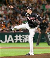 【プロ野球】ソ1-9ロ 二木が完投で4勝目