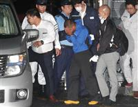 【富田林脱走】樋田容疑者が大阪府警本部に到着