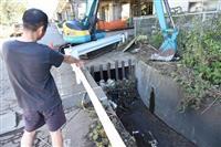 【台風24号】水路に流され、男性死亡 山梨・富士吉田