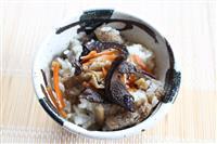 【料理と酒】強い香りの山のご褒美 香茸のまぜご飯