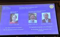 ノーベル化学賞に米英研究者3氏 薬品などの製造技術開発で