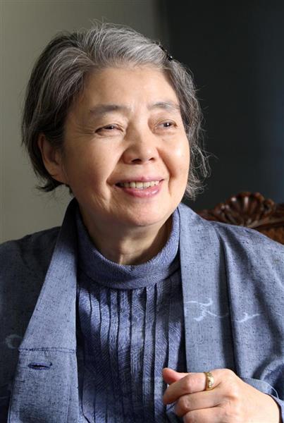女優、樹木希林さんの死をテレビ各社社長も、口々に悼んだ(荻窪佳撮影)