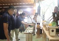 田臥「全員で戦う」、Bリーグ栃木が必勝祈願 地元・宇都宮二荒山神社