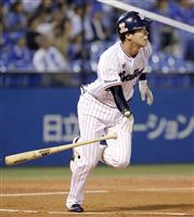 山田哲、先制34号に盗塁 3度目トリプルスリーは確実