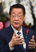 【新閣僚に聞く】吉川貴盛農林水産相 「輸出目標引き上げも視野」