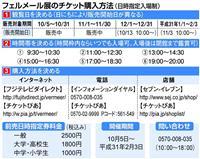 フェルメール展5日開幕 大阪展合わせれば10作品鑑賞も 歴史的展覧会に