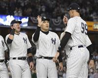 田中将大は救援待機 ヤンキースがアスレチックスと対戦