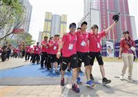 日本選手団、30人が入村式 アジアパラ大会、開幕迫る