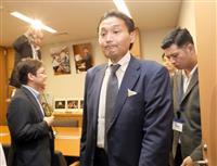 元貴乃花が国会に 「参院選出馬か」と騒然、本人は否定 馳元文科相に引退を報告