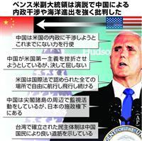 トランプ米政権、中国と「全面対決」宣言