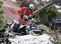 内陸部では液状化も 自衛隊救援開始へ インドネシア地震