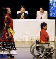 皇太子ご夫妻、国民文化祭にご出席「世代を超えて交流を」