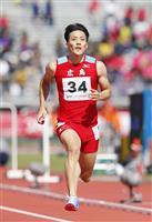山県が10秒58で優勝 陸上男子100メートル 福井国体第8日