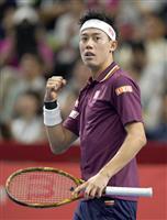 楽天ジャパン・オープン3度目Vに王手の錦織圭「挑戦者の気持ちで」