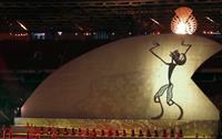 アジアパラ大会が開幕 バド長島、山崎組勝利